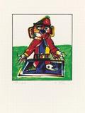 Struwelpeter, c.1993 Begränsad utgåva av Otmar Alt