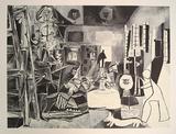 Las Meninas (Conjunto) No. 1, c.1957 Kunstdruck von Pablo Picasso