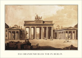 Brandenburger Tor, Berlin Print by Carl Gotthard Langhans