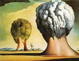 Die drei Sphinx von Bikini Prints by Salvador Dalí