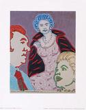 Die Koenigin als Hollywoodstar, c.1972 Posters by C.o. Paeffgen