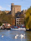 Windsor Castle and River Thames, Windsor, Berkshire, England, United Kingdom, Europe Photographic Print
