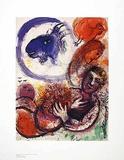 Die blaue Ziege Prints by Marc Chagall