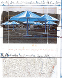 The Umbrellas, Project for Japan Art by  Christo