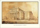 Schauspielhaus, Berlin Prints by Karl Friedrich Schinkel