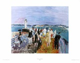 Honfleur Jette Prints by Raoul Dufy