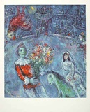 Der violette Hahn Collectable Print by Marc Chagall