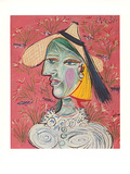 Marie-Therese mit Strohhut, c.1938 Collectable Print by Pablo Picasso
