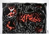 Lausanne 3 Kämpfer Edição limitada por A. R. Penck