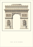 Arc de Triomphe, Paris Posters by Jean Francois Therese Chalgrin