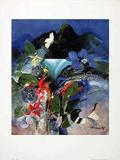 Oahu Print by Dieter Framke