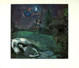 Ländliches Idyll Collectable Print by Marc Chagall