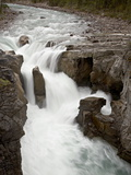Sunwapta Falls, Jasper National Park, UNESCO World Heritage Site, Rocky Mountains, Alberta, Canada Photographic Print