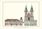 Staromestske Namesti, Prague Prints