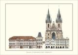 Staromestske Namesti, Prague Prints