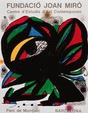 Parc de Montjuic Posters by Joan Miró