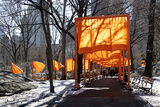 The Gates, Foto von Sylvia Volz 53 Limited Edition by Christo 