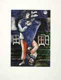 Der Spaziergang Prints by Marc Chagall