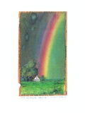 Carpe diem! (Buettenpapier) - (Regenbogenhaus) Prints by Peter Schulz