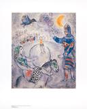 Marc Chagall - Grosser grauer Zirkus - Reprodüksiyon