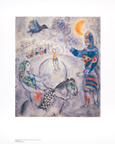 Grosser grauer Zirkus Prints by Marc Chagall