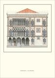 Ca'd'Oro, Venice Prints by Bartolomeo Bon