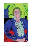 Madame L.D., Die blaue Bluse, c.1936 Prints by Henri Matisse