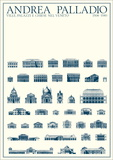 Villas, Palaces, and Churches, Venice Print by Andrea Palladio