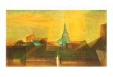 Nermsdorf I, 1925 Kunstdrucke von Lyonel Feininger