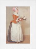 Schokoladenmädchen Prints by Jean-Etienne Liotard