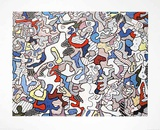 La vie de famille, c.1936 Print by Jean Dubuffet