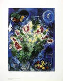 Blumenstilleben Print by Marc Chagall