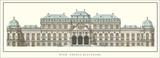 Oberes Belvedere, Vienna Poster by Johann Lukas von Hildebrandt