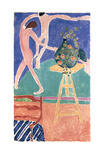Kapuzinerkresse mit &#39;&#39;Der Tanz&#39;&#39; I Posters by Henri Matisse