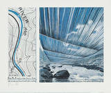 Over The Arkansas River X, Project Samlartryck av  Christo