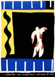 The Clown From Jazz Posters by Henri Matisse