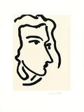 Femme III (Nadia regardant) Posters by Henri Matisse