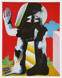 Figur, c.1967 Posters by Horst Antes