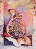 French Horn Limited Edition by Silverio Dominguez