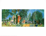 The Paddock at Deauville Prints by Raoul Dufy
