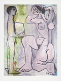 La Coiffure, c.1954 Collectable Print by Pablo Picasso