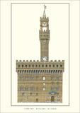 Palazzo Vecchio, Florence Art by Arnolfo di Cambio