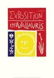 Vallauris Exposition 1958 Láminas por Pablo Picasso