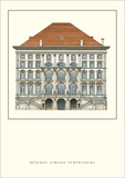 Schloß Nymphenburg, Munich Posters by Enrico Zuccalli