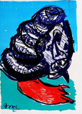 129 (One Cent Life) Collectable Print by Karel Appel