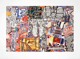 Mele Moments, c.1976 Print by Jean Dubuffet