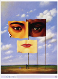 Confrontation of Similarities, c.1997 Posters by Rafal Olbinski