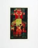 Herzdame, c.1922 Prints by Paul Klee