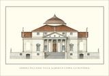 Villa Capra La Rotonda, Vicenza Art by Andrea Palladio
