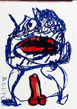 133 (One Cent Life) Collectable Print by Karel Appel